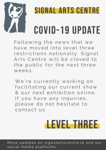 Covid-19 Update – Gallery closed to the public until 28th Oct