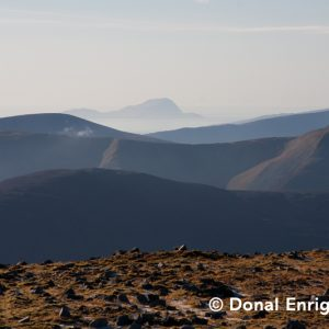Donal Enright | Clare Island from the Nephins
