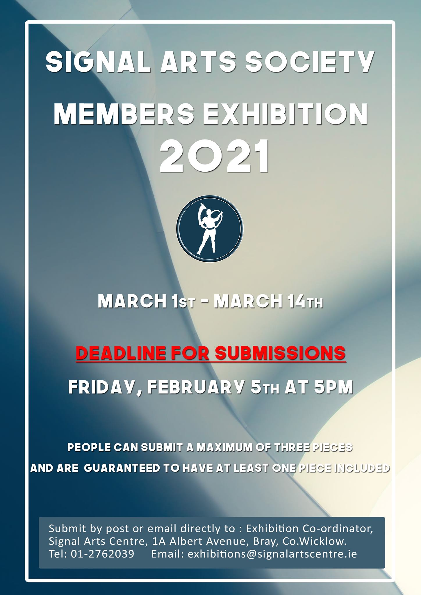 Signal Arts Society Members Exhibition Submissions