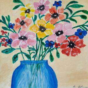 Ann Johnson – Vase of Flowers