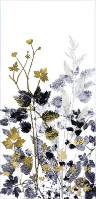 Yanny Petters Hedgerow Silhouettes with buttercup and herb - Robert